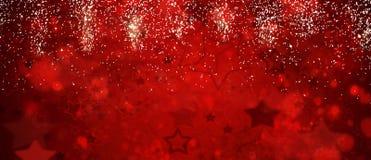 Fondo defocused delle luci di Natale royalty illustrazione gratis