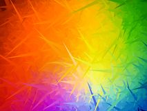 Fondo degli aghi dell'arcobaleno illustrazione di stock