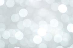 Fondo degli indicatori luminosi di Natale Fotografie Stock