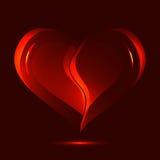 Fondo dei biglietti di S. Valentino Royalty Illustrazione gratis