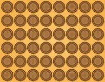 Fondo dei biscotti Immagine Stock Libera da Diritti