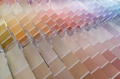 Fondo dei campioni di colore Immagini Stock