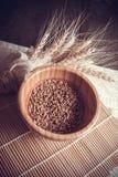 Fondo dei cereali del grano Immagini Stock Libere da Diritti