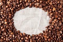 Fondo dei chicchi di caffè Immagine Stock