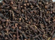 Fondo dei chiodi di garofano Fotografie Stock