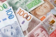 Fondo dei contanti di Swdedish Immagine Stock Libera da Diritti