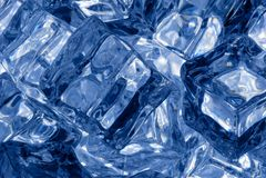 Fondo dei cubetti di ghiaccio Immagine Stock