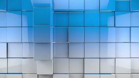 Fondo dei cubi delle mattonelle stock footage