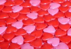 Fondo dei cuori di Candy. Fotografie Stock Libere da Diritti