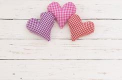 Fondo dei cuori per Valentine Day, il giorno di madri o le nozze Fotografie Stock