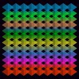 Fondo dei diamanti colorati illustrazione di stock