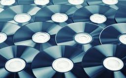 Fondo dei dischi Immagini Stock