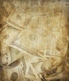 Fondo dei dollari di lerciume Fotografia Stock