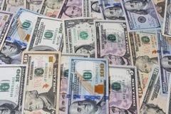 Fondo dei dollari di USD Fotografie Stock