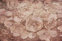 Fondo dei fiori secchi strutturati della camelia Immagine Stock