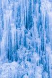 Fondo dei ghiaccioli e del ghiaccio Fotografie Stock Libere da Diritti