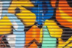 Fondo dei graffiti Fotografie Stock Libere da Diritti