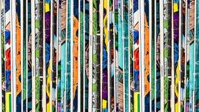 Fondo dei libri di fumetti Fotografie Stock Libere da Diritti
