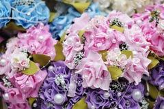 Fondo dei mazzi delle rose Immagini Stock