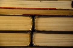 Fondo dei molti libri Fotografie Stock