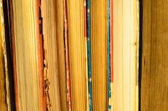 Fondo dei molti libri Fotografia Stock