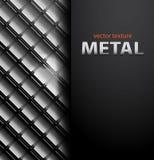Fondo dei mosaici del metallo di vettore Fotografie Stock Libere da Diritti
