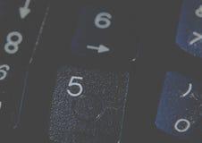 Fondo dei numeri zero - nove Priorità bassa con i numeri Struttura di numeri Nastro di misurazione cinghia del tester Fotografie Stock