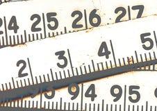 Fondo dei numeri zero - nove Priorità bassa con i numeri Struttura di numeri Nastro di misurazione cinghia del tester Fotografia Stock Libera da Diritti