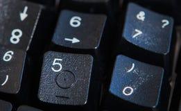 Fondo dei numeri zero - nove Priorità bassa con i numeri Struttura di numeri Nastro di misurazione cinghia del tester Fotografia Stock