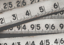 Fondo dei numeri zero - nove Priorità bassa con i numeri Struttura di numeri Nastro di misurazione cinghia del tester Immagine Stock Libera da Diritti