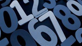 Fondo dei numeri zero - nove Priorità bassa con i numeri Struttura di numeri Immagine Stock