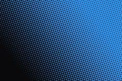 Fondo dei punti neri su fondo blu Immagini Stock Libere da Diritti