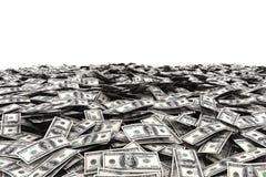 Fondo dei soldi dei dollari di U.S.A. Fotografie Stock