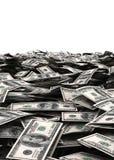Fondo dei soldi dei dollari di U.S.A. Immagine Stock Libera da Diritti