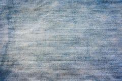 Fondo dei tessuti dei jeans Fotografia Stock Libera da Diritti