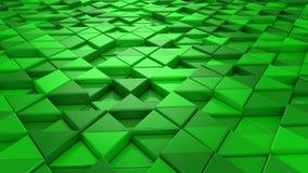 Fondo dei triangoli stock footage