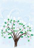 Fondo del árbol ilustración del vector