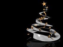 Fondo del árbol de Cristmas Imagen de archivo libre de regalías