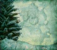 Fondo del árbol de Grunge stock de ilustración