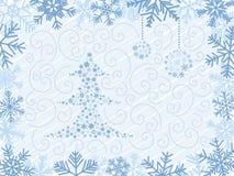 Fondo del árbol de navidad Imagenes de archivo