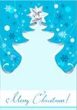 Fondo del árbol de navidad Imágenes de archivo libres de regalías