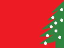 Fondo del árbol de navidad Fotografía de archivo libre de regalías