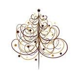 Fondo del árbol de navidad, vector ilustración del vector