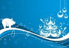 Fondo del Año Nuevo libre illustration