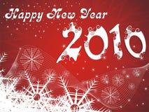 fondo del Año Nuevo 2010 Fotografía de archivo libre de regalías