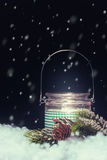 Fondo del Año Nuevo Imagen de archivo libre de regalías