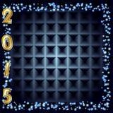 Fondo 2015 del Año Nuevo ilustración del vector
