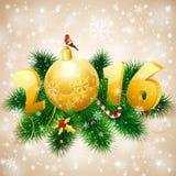 Fondo del Año Nuevo Fotografía de archivo libre de regalías