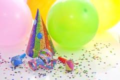 Fondo del Año Nuevo del cumpleaños del partido Imagen de archivo libre de regalías