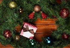 Fondo del Año Nuevo del día de fiesta Imagen de archivo libre de regalías
